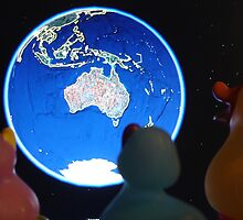 Ducks in Space by donkey