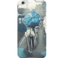 We'll Be Alright [Blue Umbrella] iPhone Case/Skin