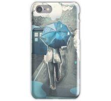 We'll Be Alright [Blue Umbrella] iPhone Case/Skin