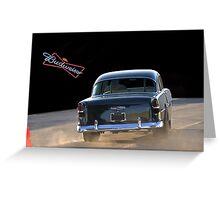 1955 Chevy 'Beer Run' Bel Air Greeting Card