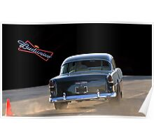 1955 Chevy 'Beer Run' Bel Air Poster
