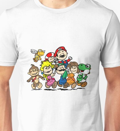 SUPER MARIO GANG Unisex T-Shirt