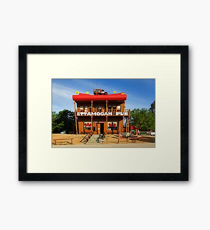 Ettamogah Pub at Albury Framed Print