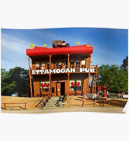 Ettamogah Pub at Albury Poster