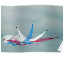 The Red Arrows: Enid Split Poster