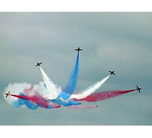 The Red Arrows: Enid Split Photographic Print