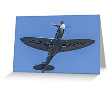 Supermarine Spitfire PR.XIX PS915  Greeting Card