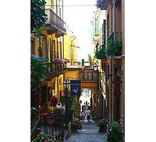Stairs Bellagio Italy Photographic Print