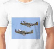 "Maurice Hammond's P-51D Mustangs ""Marinell"" & ""Janie"" Unisex T-Shirt"