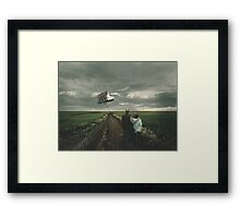 You Never Know Framed Print