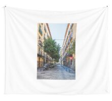 Amnesty street in Madrid Wall Tapestry