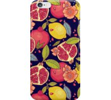 Mysterious tropical garden. iPhone Case/Skin