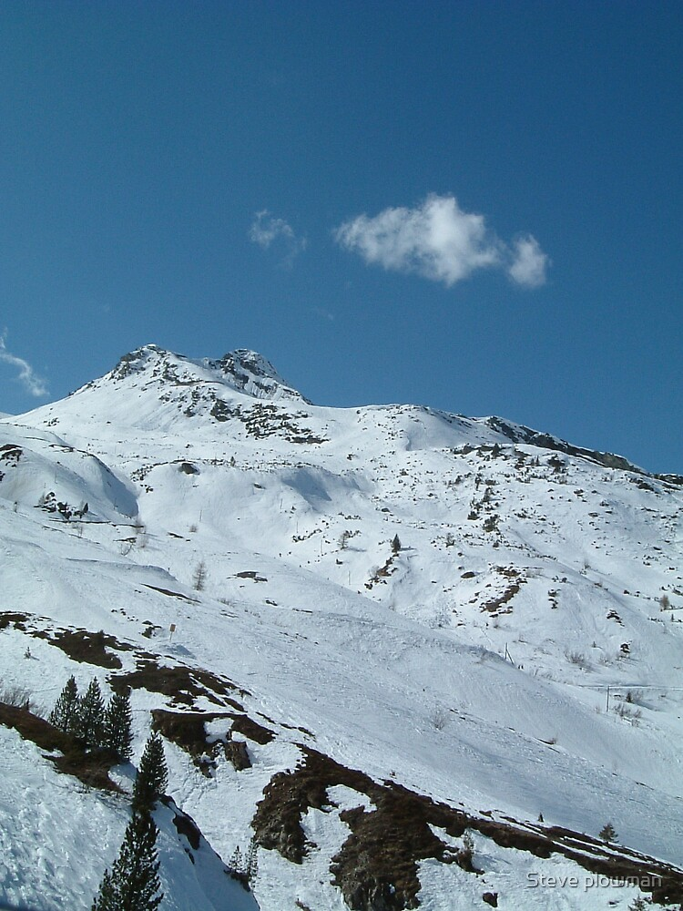 Hintertux Glacier by Steve plowman