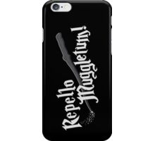 Repello Muggletum - 2 iPhone Case/Skin