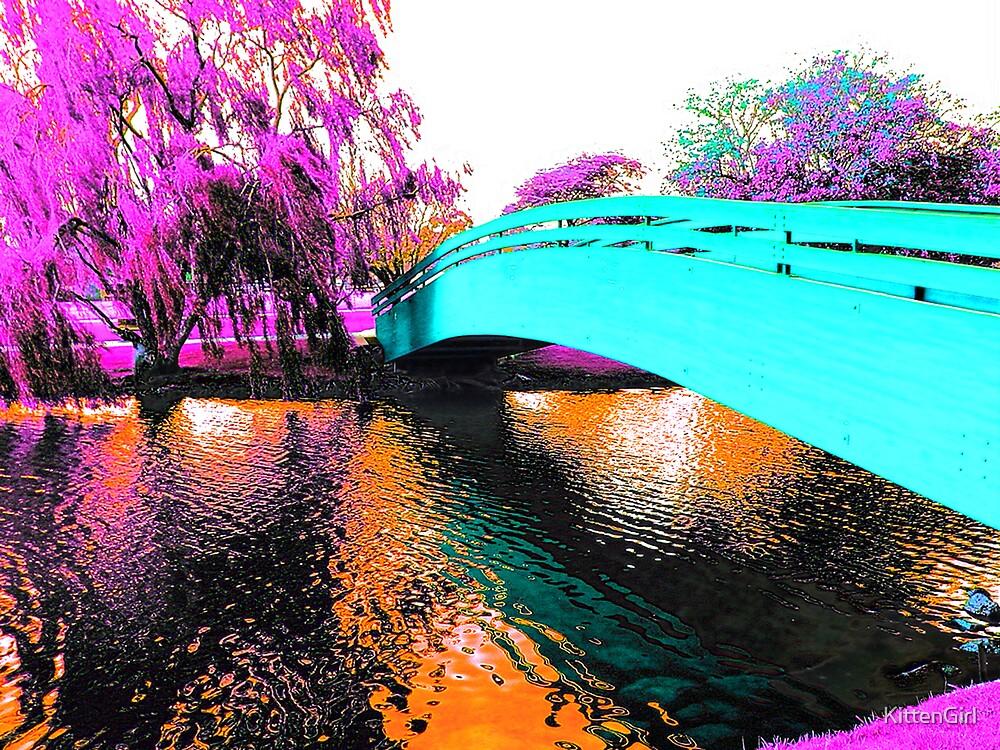 Rainbow Reflections by KittenGirl