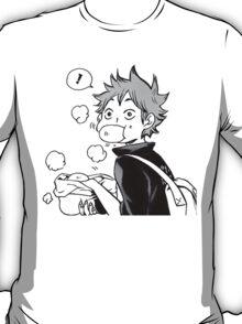 HAIKYUU: Hinata Eating Senpai's Pork Buns  T-Shirt