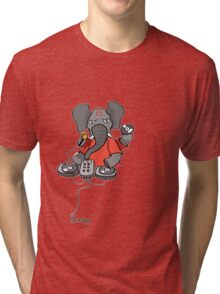 DJ Endangered - Bubblerock! Tri-blend T-Shirt