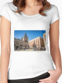 Madrid City Hall Women's Fitted Scoop T-Shirt