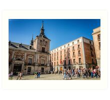 Madrid City Hall Art Print