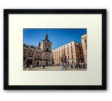 Madrid City Hall Framed Print