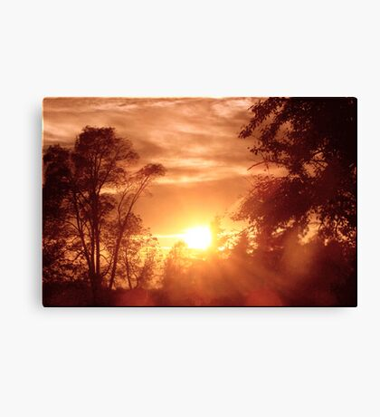 Burning Desires Canvas Print