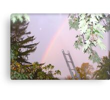 I Wanted to Paint You A Rainbow Metal Print
