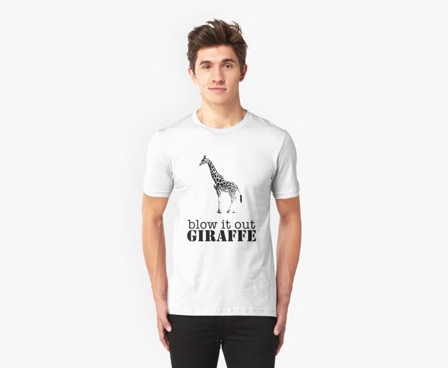 Blow it out giraffe by ArtbyCowboy