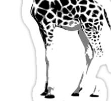 Blow it out giraffe Sticker