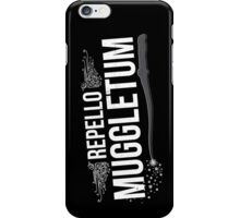 Repello Muggletum iPhone Case/Skin