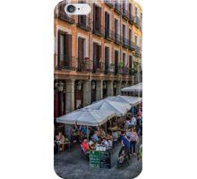 Toledo street in Madrid iPhone Case/Skin