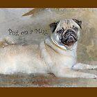 Pug on a Mug #1 by Susan Werby