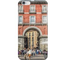 Plaza Mayor of Madrid iPhone Case/Skin