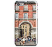 Plaza Mayor of Madrid iPhone Case/Skin