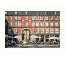 Plaza Mayor of Madrid Art Print