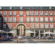 Plaza Mayor of Madrid Photographic Print