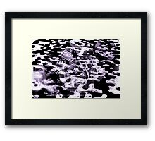 Of land and sea.... Framed Print