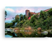 """""""The Old Papermill"""" 2 Canvas Print"""