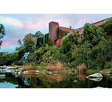 """""""The Old Papermill"""" 2 Photographic Print"""