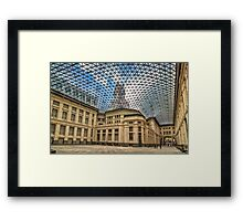 Madrid city hall Framed Print