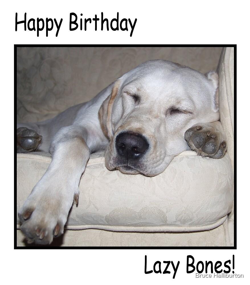 Lazy Bones by Bruce Halliburton