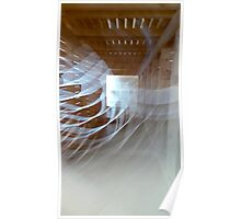 Ghostly Gallery Shapes Poster