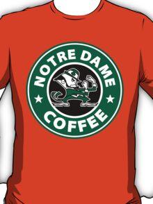 Notre Dame Coffee T-Shirt
