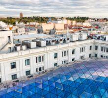 Madrid skyline Sticker