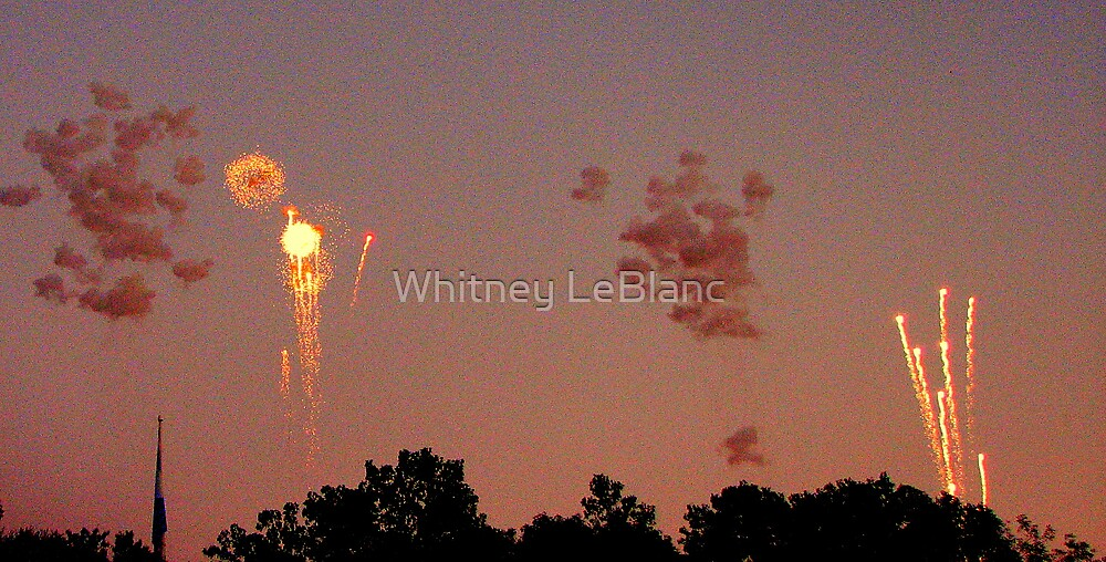 fireworks by Whitney LeBlanc