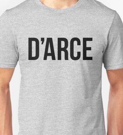 D'arce - Brazilian Jiu-Jitsu Unisex T-Shirt