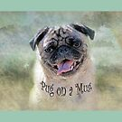 Pug on a Mug #3 by Susan Werby