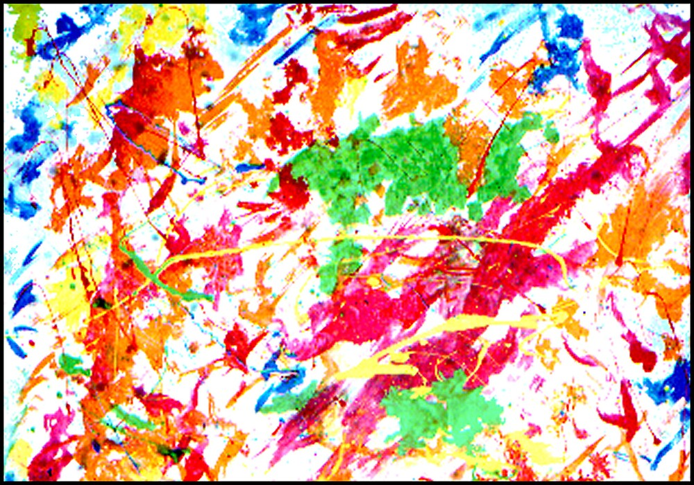 ARTCEPS- AN ABSTRACT OF BRIGHT COLORS by JOHNNYC