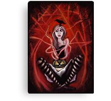All I want is Halloween Canvas Print