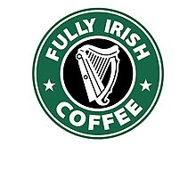Fully Irish Coffee Photographic Print