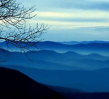 The Blue Ridge Mountains by Mundy Hackett